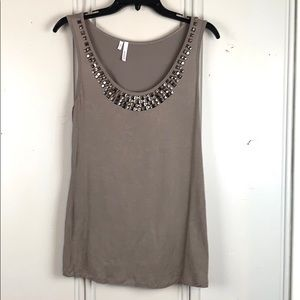 4/$20 Studio Y Studded Tank Top Size Small